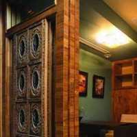 中式家居液体壁纸装修效果图