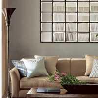 客厅2359平米卧室756平米客厅与卧室呈L型