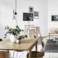 现代简约风格餐厅三层半别墅唯美灯光效果图