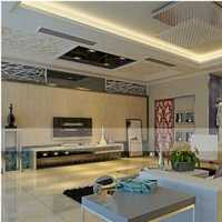 美式樣板房軟裝客廳效果圖
