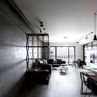 三居餐厅隔断吊灯现代简约装修效果图