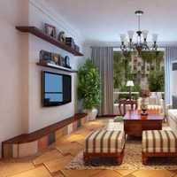 茶幾客廳背景墻地中海二居裝修效果圖
