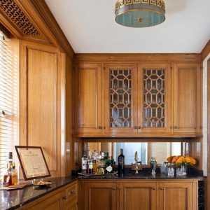 中西厨 厨房吧台设计