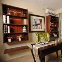 利用旧家具改造成书房装修效果图