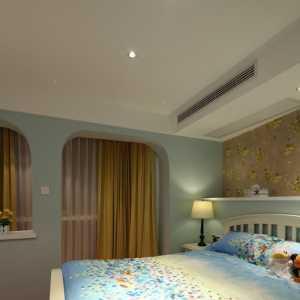 欧美风情二居室客厅走廊效果图