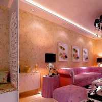 现代明快小资式别墅起居室装修效果图
