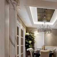 现代别墅白色橱柜装修效果图