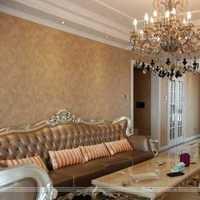 客厅沙发田园沙发背景墙装修效果图