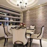 婚房灯具80平米餐桌装修效果图