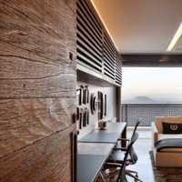 美式卧室美式家具书房装修效果图