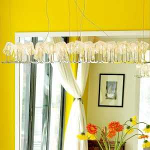舒适现代简约公寓多彩餐厅