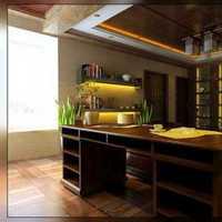 二字型廚房裝修設計圖