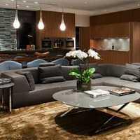 100平米两居客厅