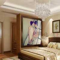 春色系两室一厅主卧室装修效果图