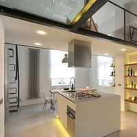 厨房混搭三居壁柜装修效果图