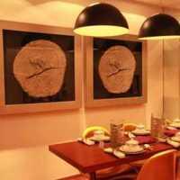 书架餐厅富裕型餐桌装修效果图