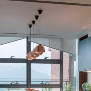 现代简约风格厨房三层别墅及家装效果图
