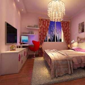 公主床 粉色系女性色彩臥室