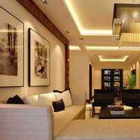 现代客厅小户型一居装修效果图