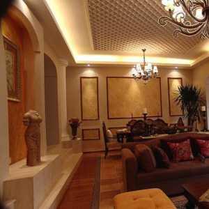 豪華歐式風格家庭室內裝潢效果圖
