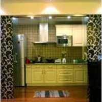 二居室富裕型简洁厨房装修效果图