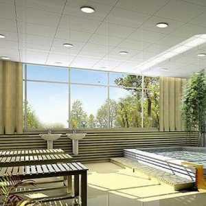 100平米客厅装修实景图