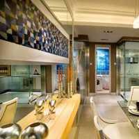 餐厅北欧loft简易书架装修效果图