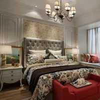 别墅卧室富裕型复式装修效果图