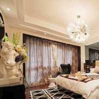 卧室窗帘卧室窗帘地中海装修效果图
