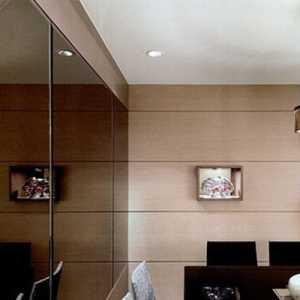 三口之家的现代简约三居室