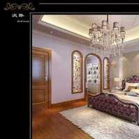 欧式别墅壁纸装修效果图
