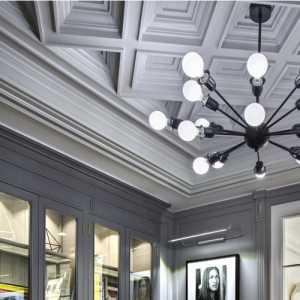 ArtDeco风格的上海老洋房室内效果图
