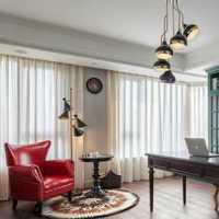 書柜美式地毯書房家具裝修效果圖