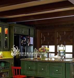 线条厨房装修效果图