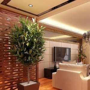 美式田园别墅客厅影视墙效果图