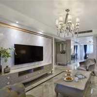 简洁客厅沙发背景墙沙发装修效果图