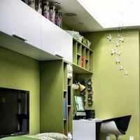 歐式家居臥室條紋窗簾效果圖