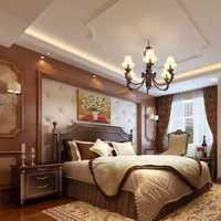 中式风格公寓富裕型卧室飘窗床效果图