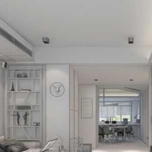 簡約風格二居室設計