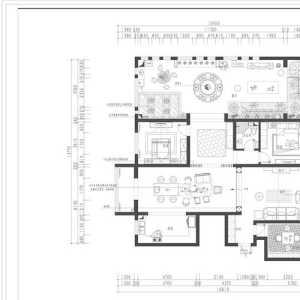 天津78平米的房子装修要多少钱简单点