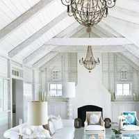 沙发现代客厅沙发客厅吊灯装修效果图
