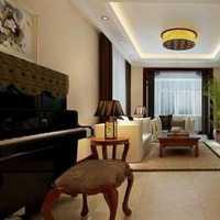田园大户型客厅松木沙发装修效果图