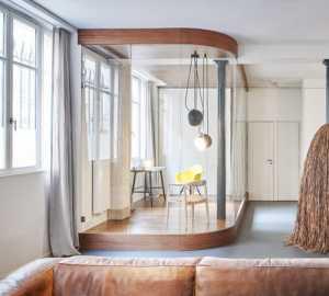 小型客厅暖色简装