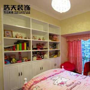 北京卧室通阳台装修效果图