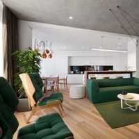 德潤黃金海岸142平復式房裝修
