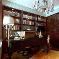 地中海书柜书房书房灯装修效果图