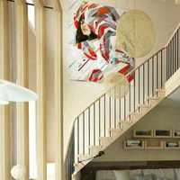 客廳交換空間客廳家具臺燈裝修效果圖
