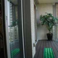 阳台一半墙一半窗装修效果图