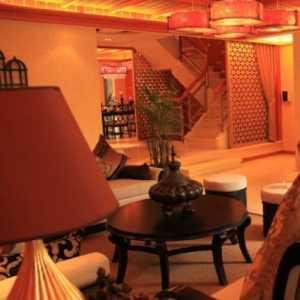 餐厅装饰效果图 饭店餐厅装修效果图 客厅装修图
