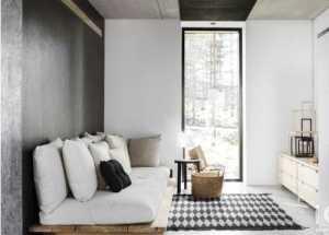 45平米老房装修两室